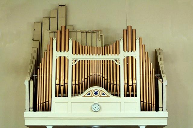 The organ at St Mary's